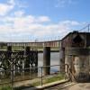 Part of Hawarden Bridge structure