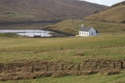 The white kirk at Voe