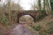 Bridge over former East Grinstead to Tunbridge Wells railway line
