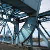 Part of the Queensferry Blue Bridge