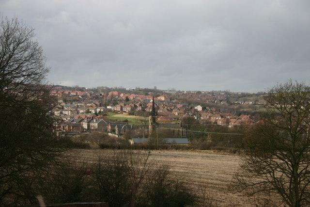 View across Elsecar
