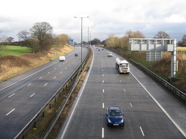 M56 Nearing Junction 6