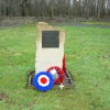 Memorial and wreaths, Down Ampney airfield