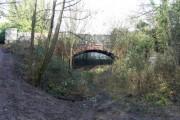 Footbridge over the old Cheltenham to Banbury railway line