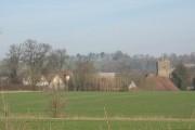 Distant view of Lenham church