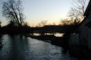 River Anton near Upper Clatford church