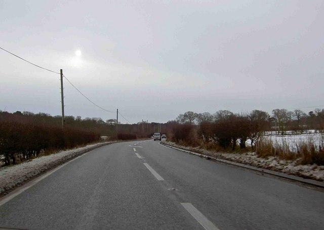 Worksop Road near Budby