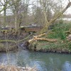 The outfall from what was The Netherwood Hall corn mill
