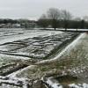 View across the extensive Roman barracks, Caerleon