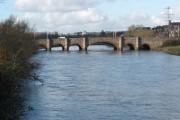 Bridge over the River Exe