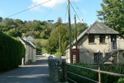 On a bridge over Nant Llancarfan