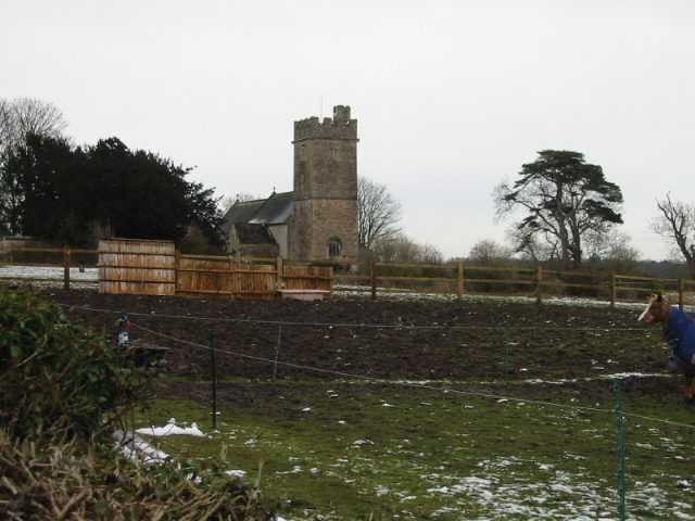 The parish church at Caerwent