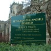 St Thomas the Apsotle Church, Leesfield, Sign