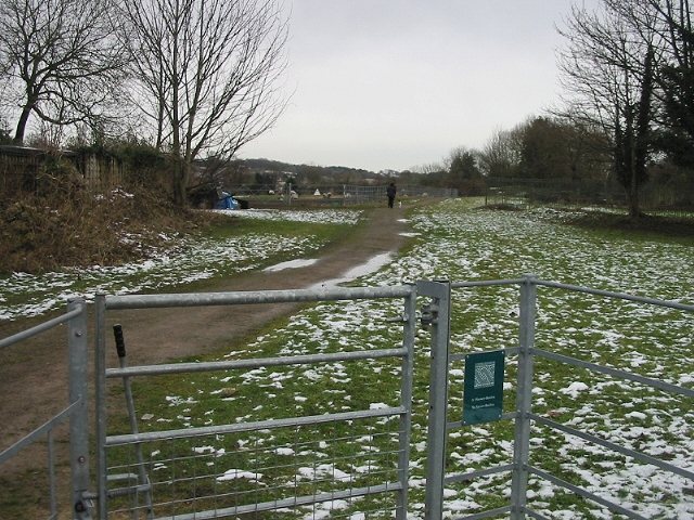 Entrance to Roman remains, Caerwent