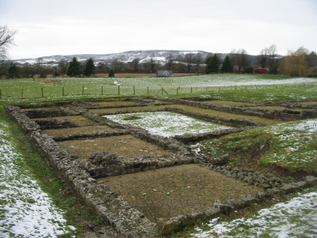Foundations of the Roman Courtyard House, Caerwent