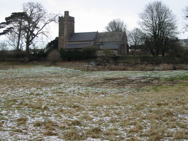 The church of St Stephen and St Tathen, Caerwent