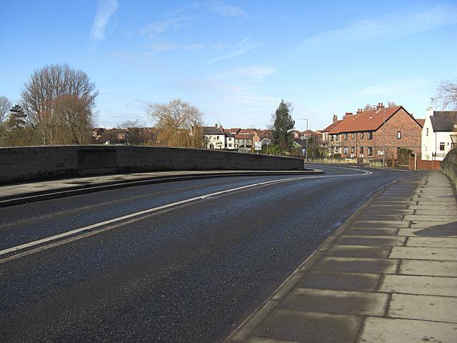 The bridge at Boroughbridge