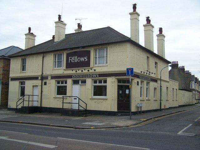 Oddfellows Pub, Dartford