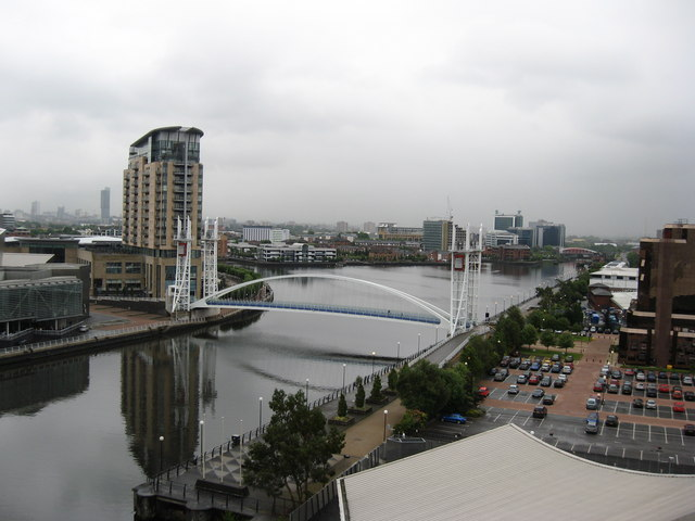 The Lowry Footbridge, Salford Quays