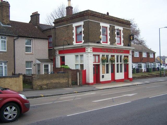 The Rose and Crown Pub, Dartford