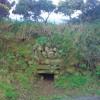 Little portal in a Pembrokeshire bank