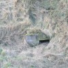 An almost buried pillbox