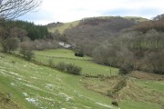 Farmland near Aberllefenni