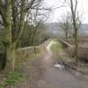Wirksworth - Bridge over the Ecclesbourne Valley Railway