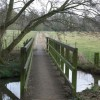 Footpath over the stream, Berkswell