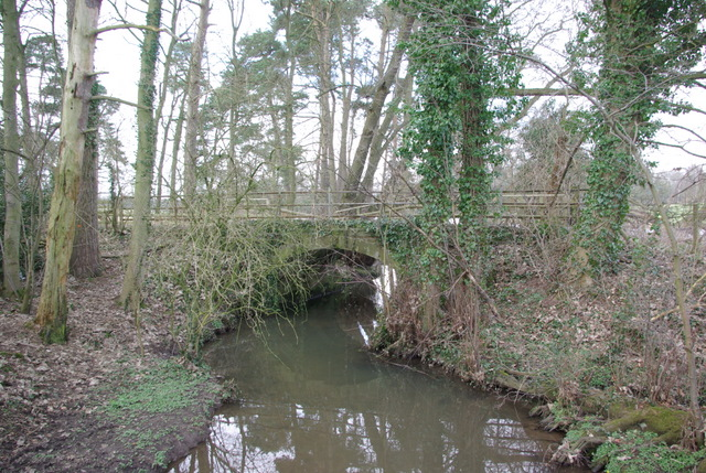Track over the stream