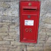 George V postbox