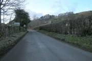 Entering Knapp Village from the east