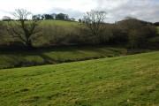Farmland above Cobley