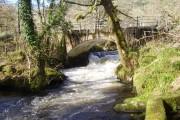 Road bridge over the River Avich