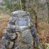 Roadside cairn