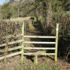 Stile leading to a short footpath