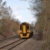 The Gloucester to Chepstow railway line