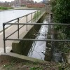 Canal overflow near Emscote Road