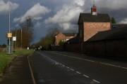 Desford Lane in Newtown Unthank, Leicestershire