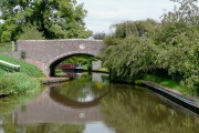 Staffordshire and Worcestershire Canal at Acton Trussell