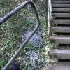 Staircase, canal embankment, Warwick