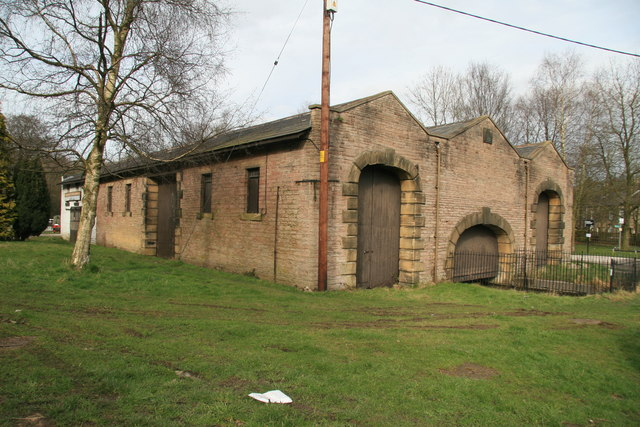 Transhipment shed, Whaley Bridge canal basin