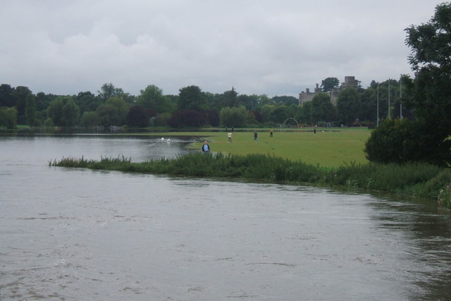 St Nicholas Park & River Avon, July 2007 floods