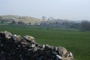 Approaching Rowland from Longstone Edge