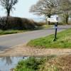 Signpost at Clarkham Cross