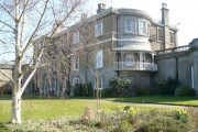 The rear of Quex House, Birchington