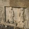 Figures in relief, St Bartholomew's Church, Churchdown