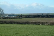 Farmland Towards Carnaby Industrial Estate