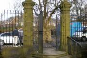 Hall i' th' Wood, Entrance