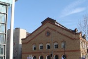 Gymnasium,  near St. Pancras Station